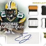 2013-Panini-Momentum-Football-Rookie-Team-Threads-Auotgraph-Eddie-Lacy