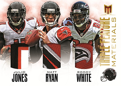 2013-Panini-Momentum-Football-Triple-Feature-Materials