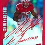 2015-Upper-Deck-Inscriptions-Melvin-Gordon-III-Wisconsin-RB-All-American-Autograph-Rookie-Card