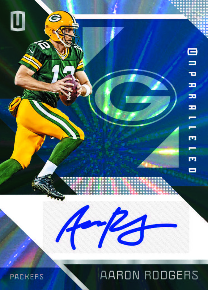 2016-panini-unparalleled-football-aaron-rodgers-auto